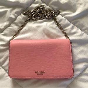 Pink Kate Spade Leather Crossbody Bag